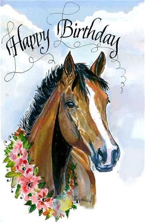 printable horse happy birthday cards prijeki