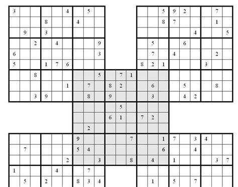 printable multiple sudoku printable sudoku
