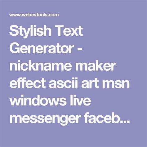 best 25 stylish text generator ideas on pinterest cool - Decoration Text Generator