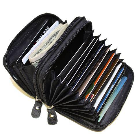 Gift Card Wallet - genuine leather credit card holder wallet ebay