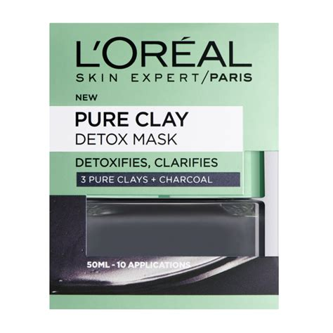 Loreal Detox l oreal clay detox mask 50ml feelunique