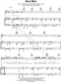 ed sheeran new man ed sheeran quot new man quot sheet music in e minor transposable