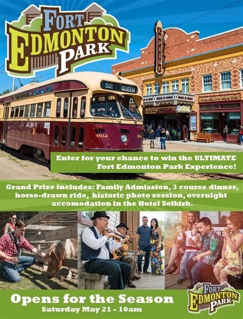 Edmonton Contests And Giveaways - fort edmonton park ultimate giveaway
