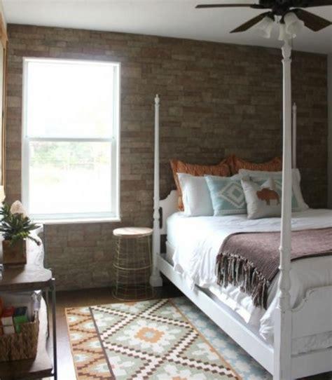parete da letto consigli e idee per la parete in pietra per la da letto
