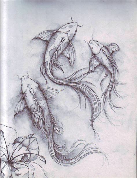 tattoo koi sketch fish sketch by dennis adriano at coroflot tattoos