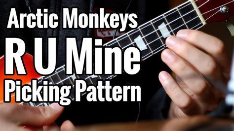 ukulele tutorial arctic monkeys quot r u mine quot ukulele background picking pattern arctic