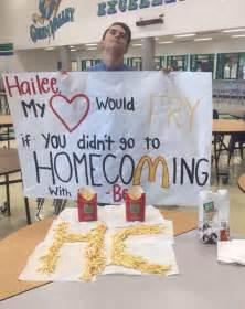 homecoming proposal prom proposal cute ideas original