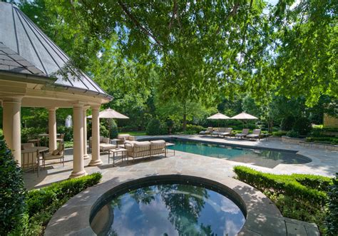 luxury estate property traditional landscape dallas by harold leidner landscape architects