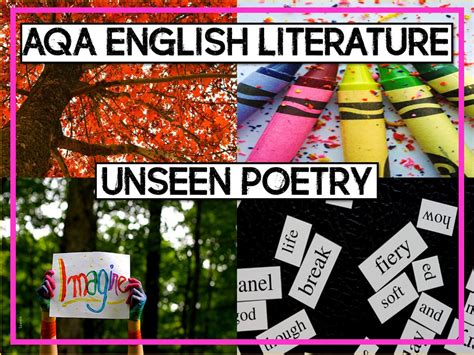 aqa english literature unseen rojoresources s shop teaching resources tes