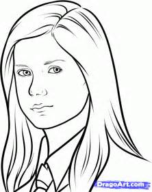 harry potter ginny coloring coloring