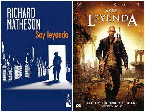 libro soy leyenda soy leyenda de richard matheson libro y francis lawrence pel 237 cula