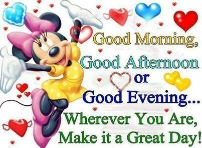 making it lovely make it a great day quotes quote morning minnie mouse good