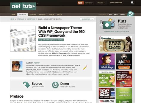 tutorial css framework 300 resources to help you become a wordpress expert