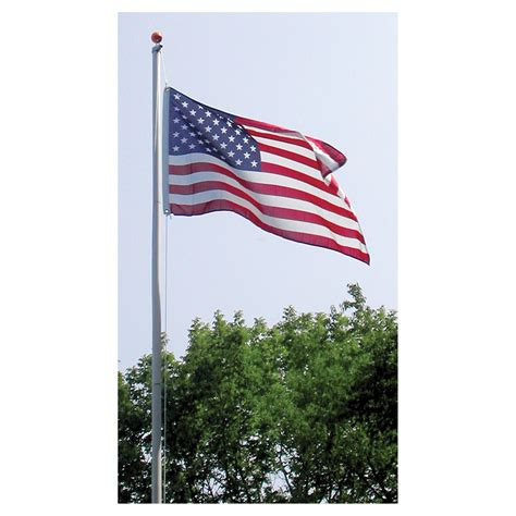 20ft residential flag pole w us made flag