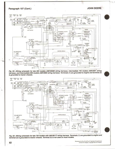 deere z trak 737 repair manual wiring diagrams