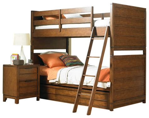carter bedroom furniture hooker furniture opus designs carter bunk bed 3 piece