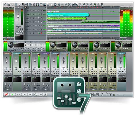 audio desk recording software freeware digital multitrack recording software