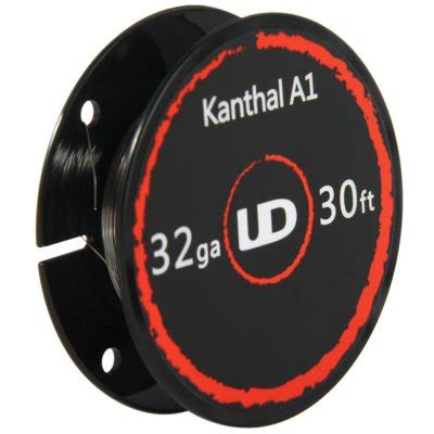 authentic youde ud kanthal a1 wire 32ga heating wire