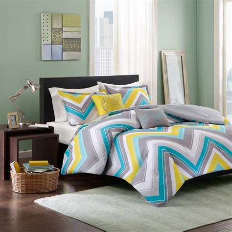 yellow and teal bedding teal yellow and grey bedding decorate my house