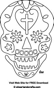 day of the dead skull mask template day of the dead skull mask