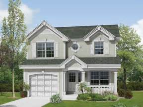 one story house small two story house plans small two