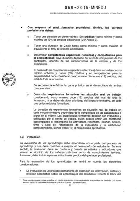 decreto supremo n 010 2015 minedu modifica el reglamento teoria curricular minedu newhairstylesformen2014 com