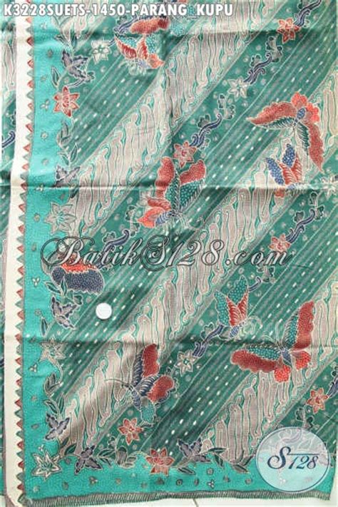 Parang Kupu kain batik motif parang kupu produk batik mewah