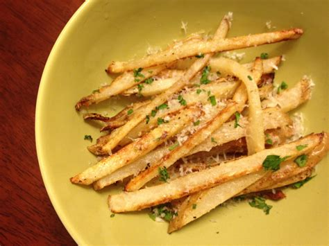 parmesan garlic truffle fries delish megish