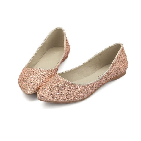 silver rhinestone flat shoes new trend beige rhinestone flat silver shoes low