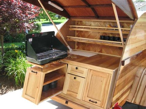 photos of galley options teardrops etc pinterest trailers trailer storage and teardrop treehouse trailers and sinks on pinterest