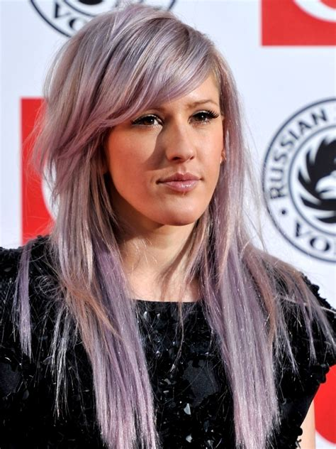 long choppy layered celebrity hairstyles