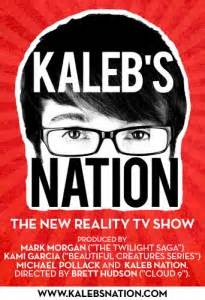 Mag Gets Its Own Reality Show by The Twi Kaleb Nation Gets His Own Tv Show Twilight