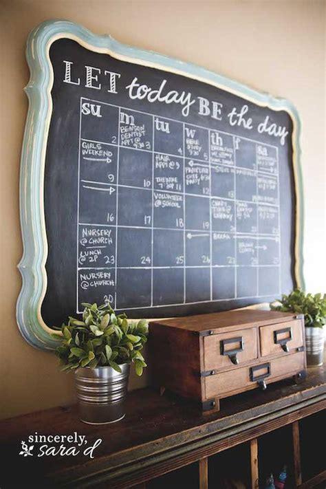 chalkboard diy calendar diy chalkboard calendar sincerely d