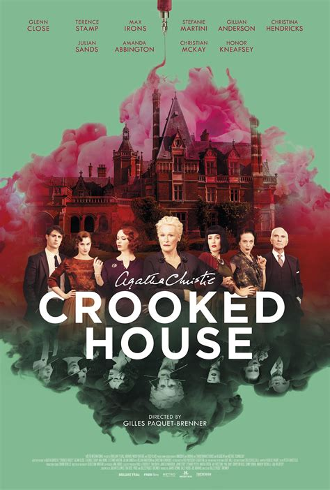 crooked house crooked house 2017 poster 1 trailer addict