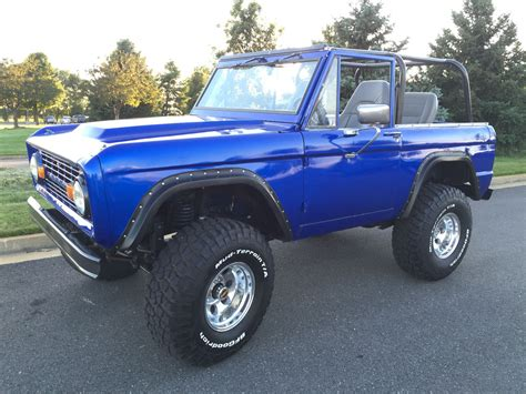 ford bronco 1970 1970 ford bronco maxlider brothers customs