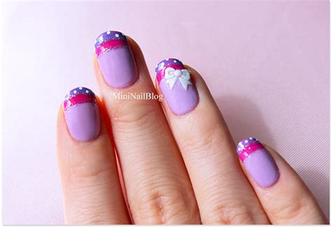 a simple and easy girly zebra nail art design finger happy new year with minions nailbees