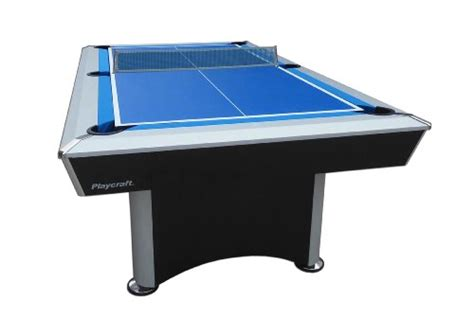 playcraft sprint 3 in 1 blue cloth pool table with glide