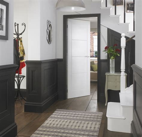 hallway inspiration modern hall yorkshire and the humber by premdor uk