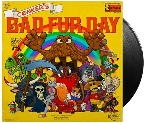 s day soundtrack conker s bad fur day vinyl soundtrack 2xlp iam8bit