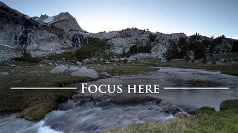 Landscape Photos Settings Photography Tutorial Get Sharp Focus From Front To Back