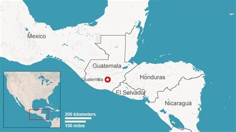 where is guatemala on the map guatemala confronts a chapter cnn