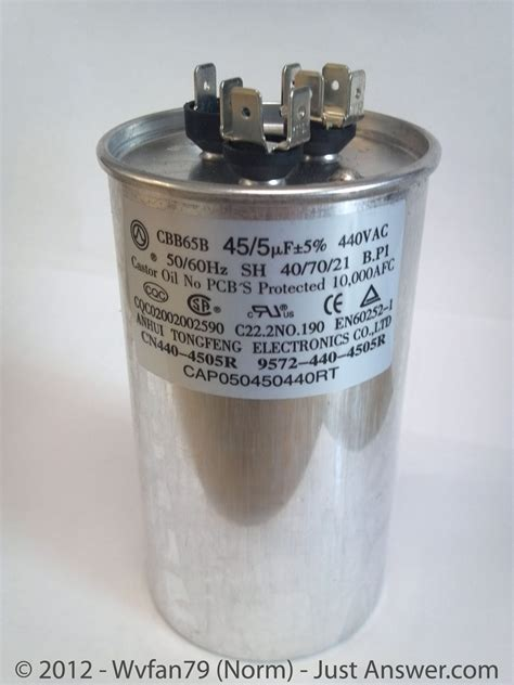 dual run capacitor failure image gallery hvac capacitor