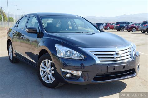 nissan teana modified nissan teana 2 0l malaysia specification review
