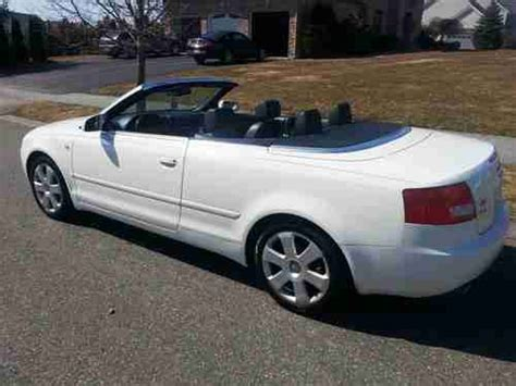 electronic toll collection 1998 audi cabriolet seat position control purchase used 2004 audi a4 quattro cabriolet convertible 2 door 3 0l in danvers massachusetts