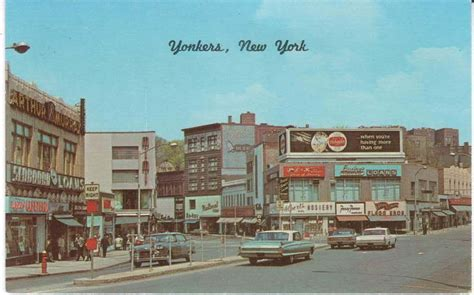 yonkers ny getty s square yonkers 1950s bronxville yonkers new