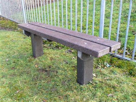 plastic bench legs the spey bench recycled plastic extended legs
