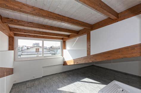 pavimento ventilato tetto ventilato in legno a villa rosa di martinsicuro