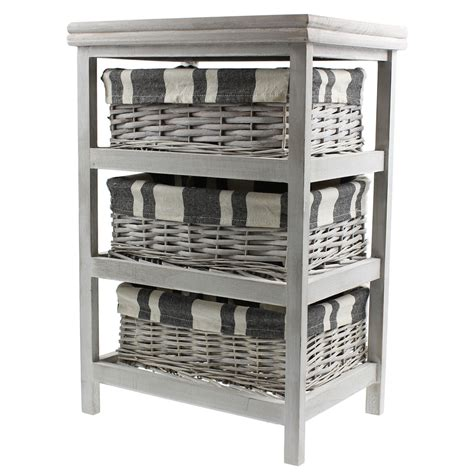 five shelf shoe cabinet with two storage bins homestyle 3 storage wicker baskets chest drawers cabinet
