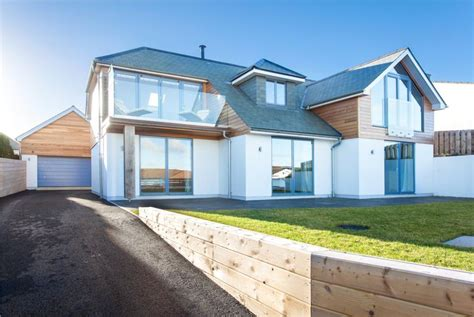 modern house designs uk 5 bedroom detached house for sale in higher tristram polzeath wadebridge cornwall