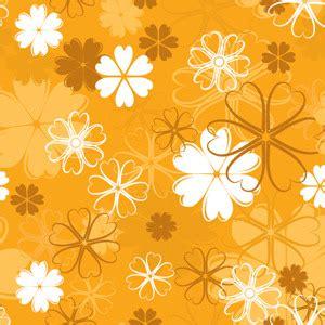 orange pattern vector orange floral pattern vector freevectors net